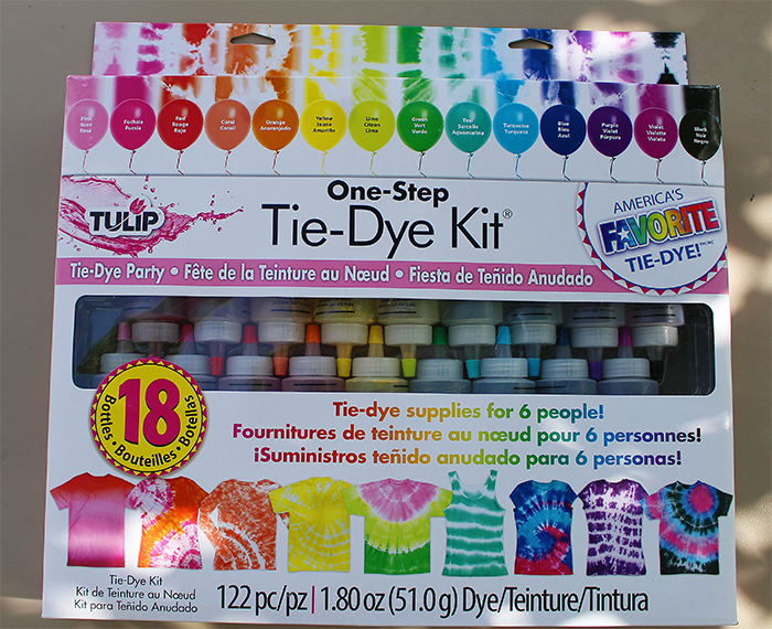 tiedye party kit